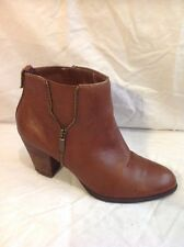 Autograph Brown Ankle Leather Boots Size 7.5