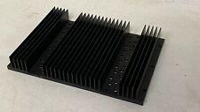 Black Aluminum Heatsink 10x7 for Back to the Future Delorean Time Machine Bttf