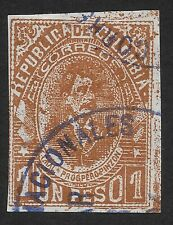 Colombia 1902 Urban Views, Personal and Coat of Arms 1P (FBX)