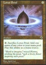 [1x] Lotus Petal [x1] Tempest Played, English -BFG- MTG Magic