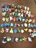 Pokemon Kids Finger Puppet Figure Lot of about 68 Figures