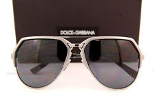 Brand New Dolce & Gabbana Sunglasses DG 2151 1108/81 Gunmetal/Polarized Grey Men