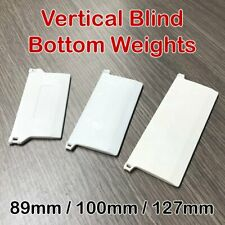 Vertical Blind Bottom Weight Slats Chain Style Parts DIY Repair 89mm 100mm 127mm