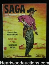 Saga Aug 1952 Burne Hogarth Illustration, Dope Gang story - High Grade