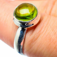 Peridot 925 Sterling Silver Ring Size 7 Ana Co Jewelry R26566F