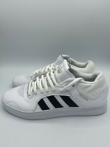 adidas Tyshawn Men's Skateboarding Sneakers Casual Shoes Trainers Black White