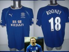 Everton ROONEY Jersey football Soccer Kejian Adult Small England Vintage 2003