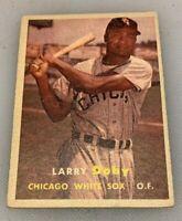 1957 Topps # 85 Larry Doby Baseball Card Chicago White Sox