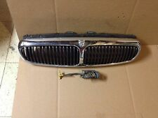 Jaguar X-type Grill With Emblem & Lock Release 2002-2008 Clean Factory OEM