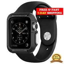 Spigen Apple Watch Case Series 1 / 2 / 3 (42mm) Rugged Armor Case Black