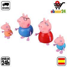 4 MUÑECOS PEPPA PIG PEPA CERDO JUGUETE NIÑO REGALO TOY KID *Envío GRATIS desde E