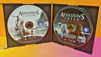 Assassin's Creed Revelations + III 3 -  Playstation 3 PS3 Games Lot Tested