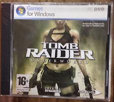 NEW*SEALED PC GAME TOMB RAIDER UNDERWORLD (PC)(DVD) BRAND NEW FACTORY SEALED