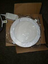 "Dimabble LED Recessed Lighting 6"" Round Ultra Thin Panel Light 5pk warm white"
