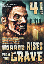 2 Disc 4 Movie - HORROR RISES FROM THE TOMB / ZOMBIE HELL HOUSE / NIGHT OF