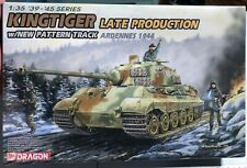Dragon Kingtiger Late Production w/ New Patten Track Ardennes 1944 1/35 NEW FS