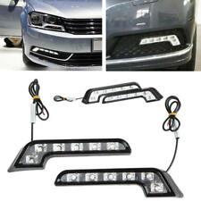 2xCar Auto Daytime Running Light 6LED DRL Fog Drive Daylight White Head Lamp nbg