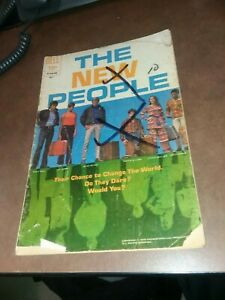 The New People #2 Dell Comics 1970 bronze age tv show photo cover classic mods