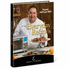 Everyday Recipes for the Power AirFryer 360 by Emeril Lagasse (2019, Hardcover)