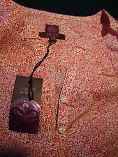 LIBERTY OF LONDON TOM DALEY 100% COTTON BLOUSE SHIRT TUNIC NEW MED roll up tabs