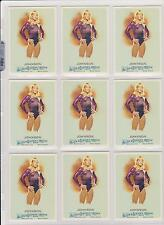 (9) 2010 ALLEN & GINTER SHAWN JOHNSON CARD #236 LOT ~ USA OLYMPIC GYMNASTICS