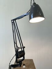 Vintage Hadrill & Horstmann industrial Counter Balance Roller lamp
