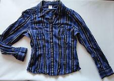 s.Oliver Bluse Hemd für Mädchen Gr. S ( 140 ) Blautöne gestreift
