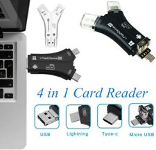 4in1 i-Flash Drive USB Micro SD&TF Memory Card Reader Adapter For Android iPhone