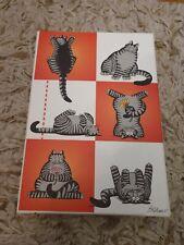 New listing Vintage Kliban Cat Stationary Set