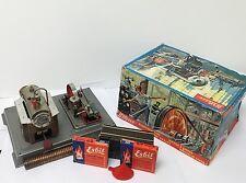WILESCO D10 Toy Steam Engine Western Germany w/box, & Extras