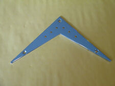 FLYING V STRING THROUGH TAIL FITS SOME DEAN EPIPHONE and JACKSON GUITARS CHROME