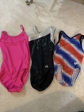 Lot of Leotards Size S / M Gk Elite Gymnastics Usa Alfa Factor And freestyle