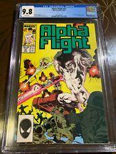 Alpha Flight #51 CGC 9.8 1st Jim Lee Art at Marvel Comics