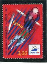 TIMBRE FRANCE OBLITERE N° 3074 FRANCE 98 FOOTBALL /
