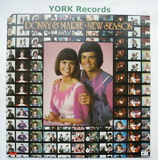 DONNY & MARIE OSMOND - New Season - Excellent Con LP Record Polydor PD-1-6083