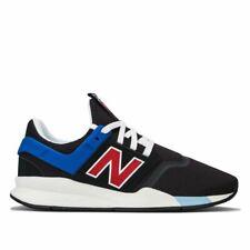 Para Hombre New Balance 247v2 Con Cordones Acolchada Zapatillas en Negro