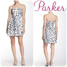 NEW PARKER LILY Strapless CORSET DRESS SIZE M  $264 CUMULUS PRINT NORDSTROM