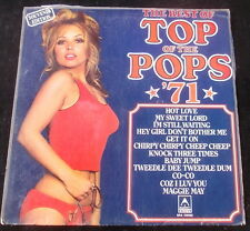 Cheesecake LP TOP OF THE POPS Best Of 1971 LP Bondage Cover SPINAL TAP!