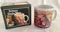 Antique Santa Mug Ceramic 10 oz WBI World Bazaars Coffee Cup #22825 New in Box