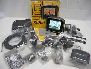 TomTom RIDER 1 Motorcycle Bike GPS Navigator Set tom 1st Edition riding trip