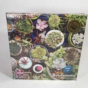 1000 Piece Puzzle - Succulents - Sealed Box - R3