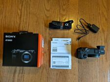 Sony Alpha A6600 Mirrorless Camera Body Only 24 2MP APS-C - Mint Condition