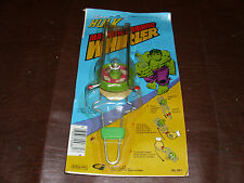 Vintage Incredible Hulk Magnetic Spinning Whirler Marvel Rare Gordy MOC 1979