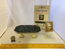 1/16 SCALE DINING ROOM TABLE SET IDEAL PETITE PRINCESS 4421-4 250 NO PICTURE