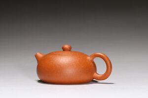 Chinese Yixing zisha teapot handmade Red Bian xi shi teapot 170cc