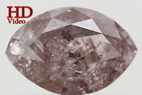 Natural Loose Diamond Light Pink Color Marquise Clarity I3 6.10 MM 0.56 Ct L6195