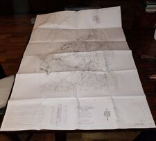 "Pre-owned ~ FLOYD COUNTY, GA General Highway Map (2010, 36"" x 48"", set of 2)"