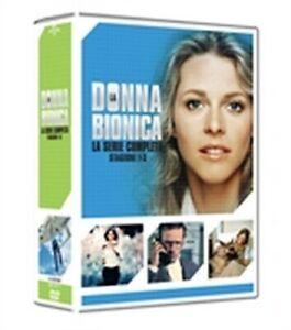 La donna bionica - Serie Completa - Stagioni 1-3 (16 DVD) - ITA ORIG SIGILLATO -