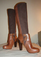 Cole Haan Women's Tiffany Tall Boot Sequoia/Fatique Flannel Brown New Fall 2013