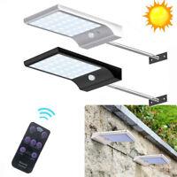 Waterproof 48 LED Solar Powered Lamp Outdoor Garden Yard PIR Motion Sensor Light
